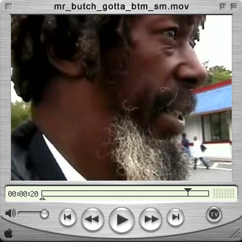 mr butch show video